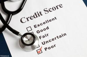 Your credit score will affect your application for a loan